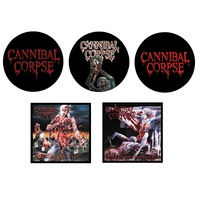 Cannibal Corpse 5 Button Badge Set