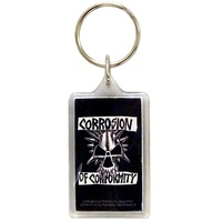 Corrosion Of Conformity Logo Lucite Keychain