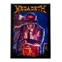 Megadeth Rust In Peace Vic Lab Magnet