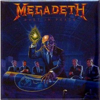 Megadeth Rust In Peace Album Magnet