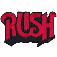 Rush Red Logo Patch
