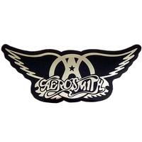 Aerosmith Chrome Logo Sticker
