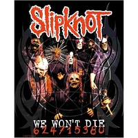 Slipknot We Won't Die Sticker