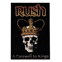 Rush A Farewell To Kings Sticker