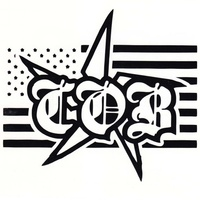 Children Of Bodom Icon Black Rub On Sticker