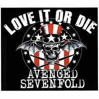 Avenged Sevenfold Love It Or Die Sticker