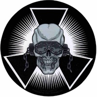 Megadeth Skull Burst Sticker
