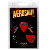 Aerosmith Guitar Pick 6 Pack