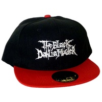The Black Dahlia Murder Logo Black & Red Cap Hat