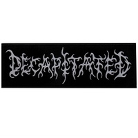 Decapitated Logo Strip Patch