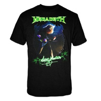 Megadeth Dave Mustaine Autograph Photo Shirt