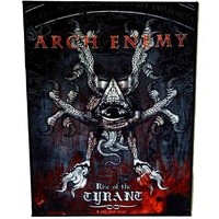 Arch Enemy Rise Of The Tyrant Back Patch