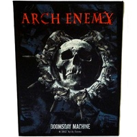 Arch Enemy Doomsday Machine Back Patch