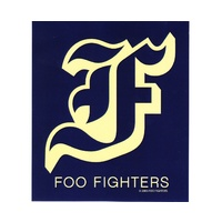 Foo Fighters FF Logo Sticker