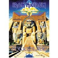 Iron Maiden Powerslave Poster Flag