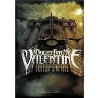 Bullet For My Valentine Scream Aim Fire Poster Flag