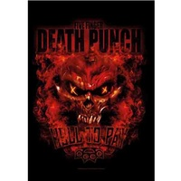 Five Finger Death Punch Hell To Pay Poster Flag
