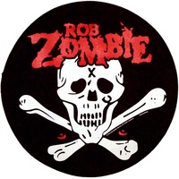 Rob Zombie Dead Return Back Patch