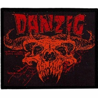 Danzig Demi Skull Patch