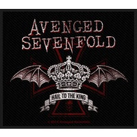 Avenged Sevenfold Red Crown Patch