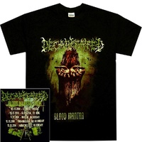 Decapited Blood Mantra Tour Shirt