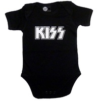 Kiss Logo Baby Bodysuit (choice of 4 colours)