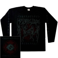 My Dying Bride Skeletal Band Long Sleeve Shirt