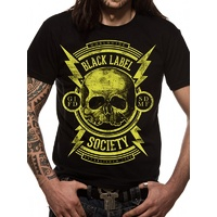 Black Label Society Skull Shirt