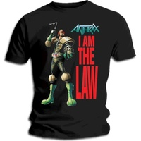Anthrax I Am The Law Shirt