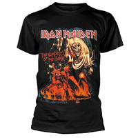Iron Maiden Number Of The Beast Graphic Shirt