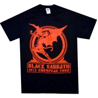 Black Sabbath Europe 75 Shirt