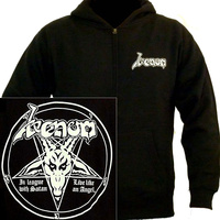 Venom In League With Satan Hoodie