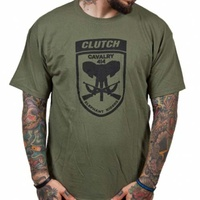 Clutch Elephant Riders Olive Shirt