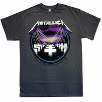 Metallica Master Of Puppets Vintage Grey Shirt