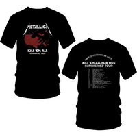 Metallica Kill Em All Summer 83 Shirt