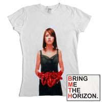 Bring Me The Horizon Suicide Season Red Womens Shirt