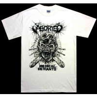 Aborted Medical Deviants White Shirt