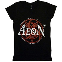 Aeon Fist Of Hell Ladies Shirt