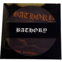 Bathory The Return Of Darkness Picture Disk LP