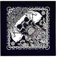 Amon Amarth Bearded Skull Bandana
