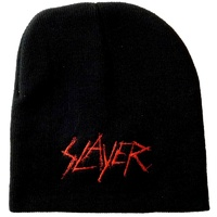 Slayer Scratch Logo Embroidered Beanie