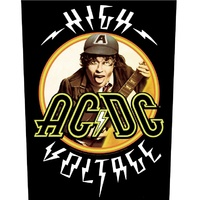 AC/DC High Voltage Angus Back Patch