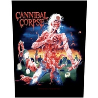 Cannibal Corpse Eaten Back To Life Back Patch