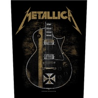 Metallica Hetfield Guitar Back Patch