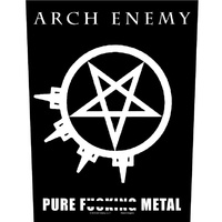 Arch Enemy Pure Fucking Metal Back Patch