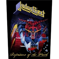 Judas Priest Defenders Of The Faith Back Patch