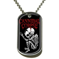 Cannibal Corpse Foetus Dog Tag Necklace