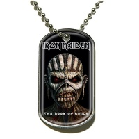 Iron Maiden Book Of Souls Dog Tag Necklace