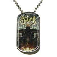 Ghost Meliora Dog Tag Necklace