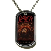 Slayer Repentless Dog Tag Necklace